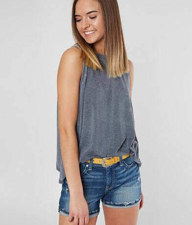 FITZ + EDDI Tulip Back Tank Top