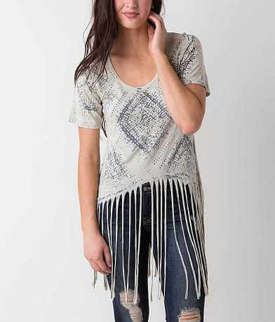 T Party Fringe Top