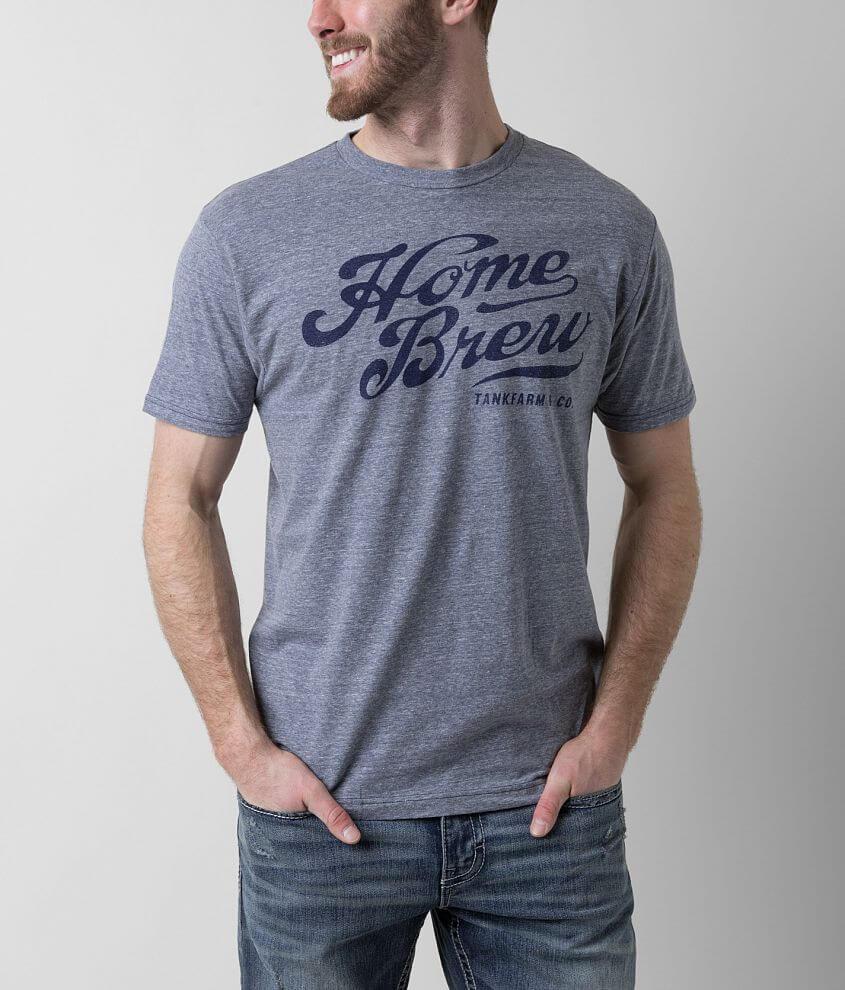 Tankfarm Home Brew T-Shirt front view