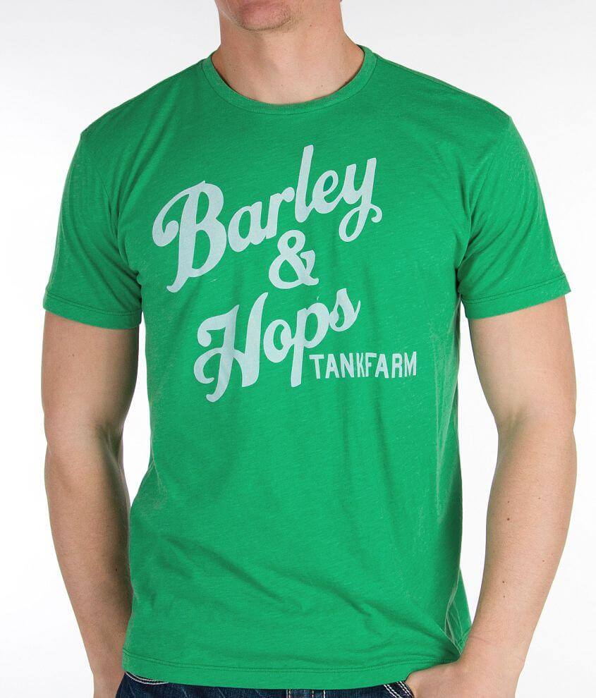 Tankfarm Barley & Hops T-Shirt front view