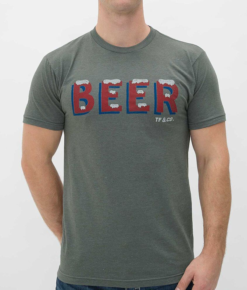 Tankfarm Ice Cold Beer T-Shirt front view