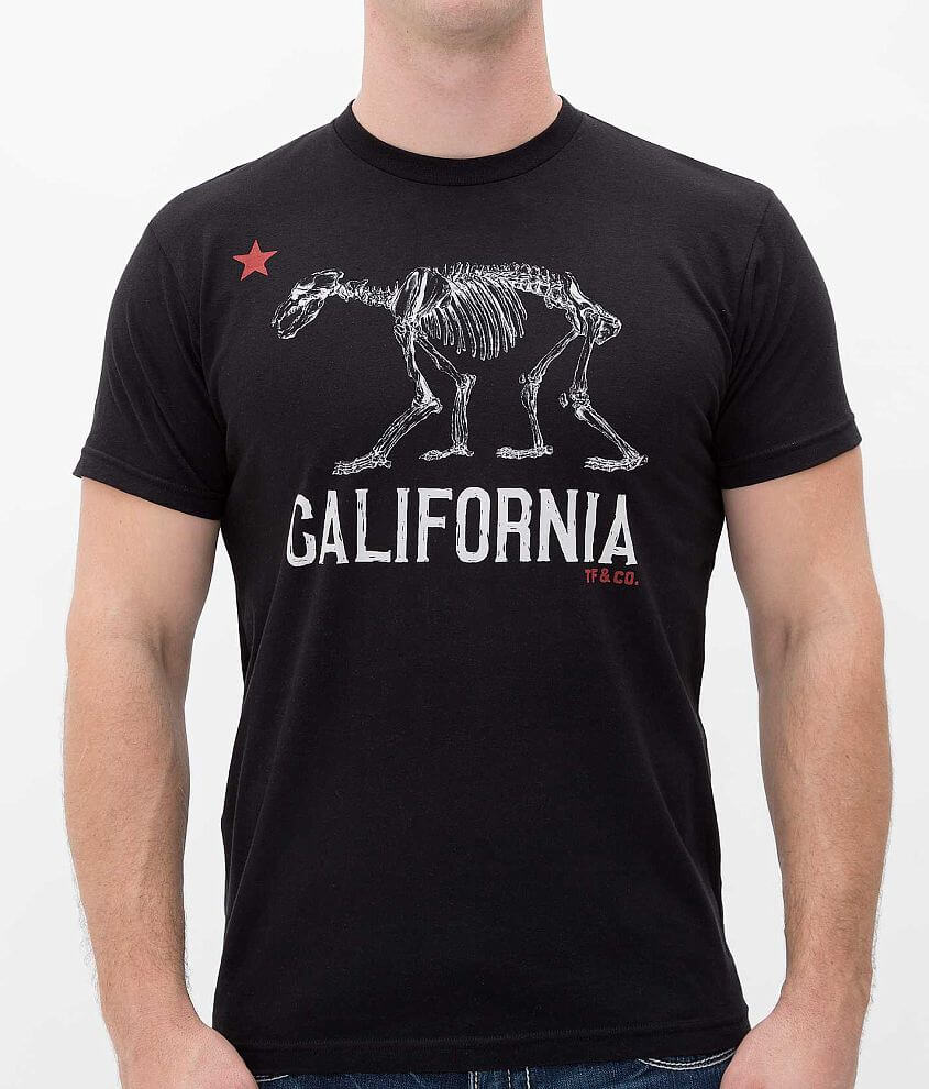Tankfarm California Bear T-Shirt front view