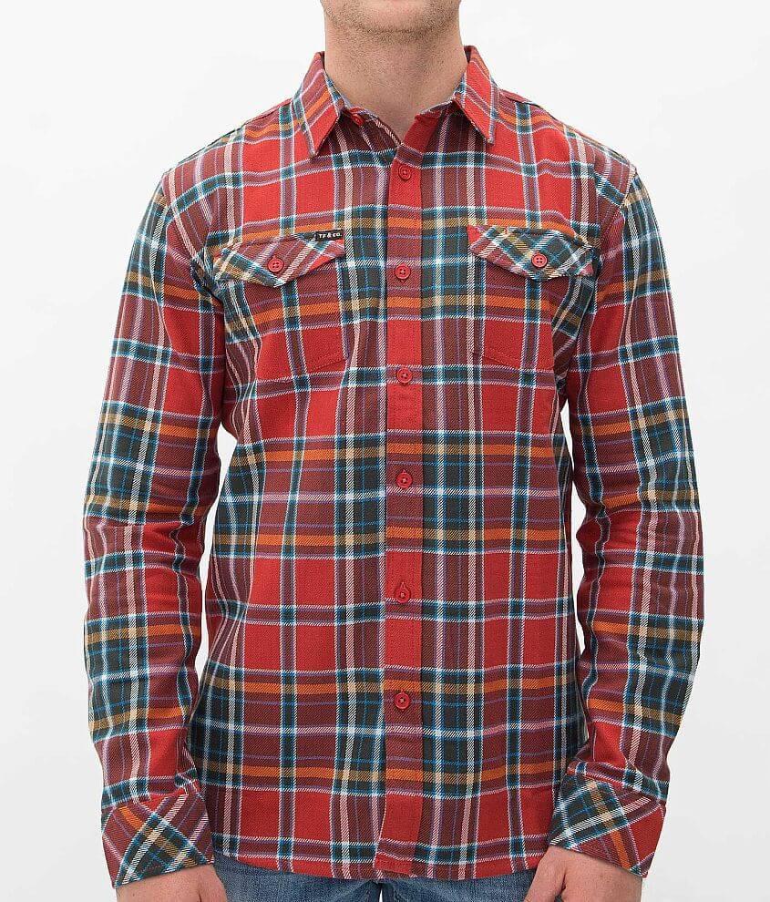Tankfarm Templeton Flannel Shirt front view