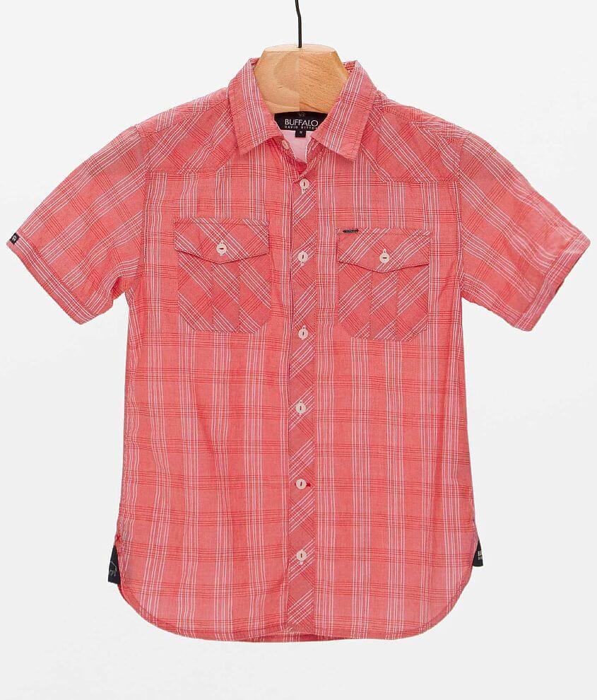 Boys - Buffalo Sapux Shirt front view