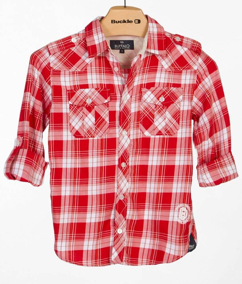 Boys - Buffalo Sivixen Shirt front view