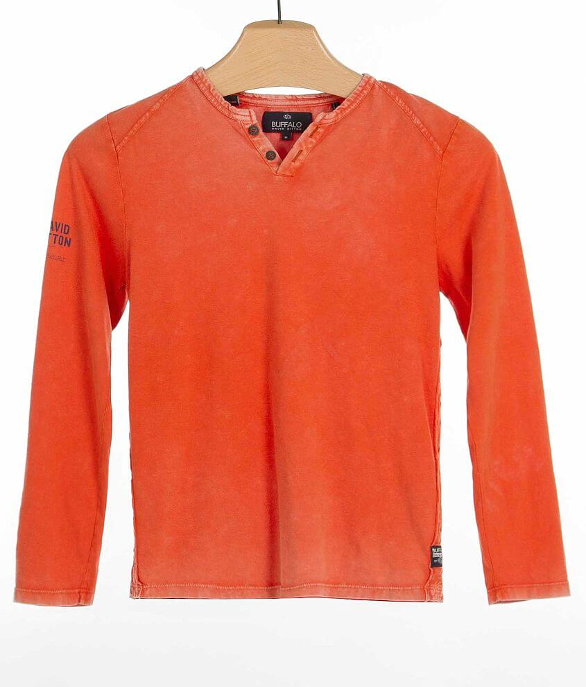 Boys - Buffalo Narwhalter Henley front view