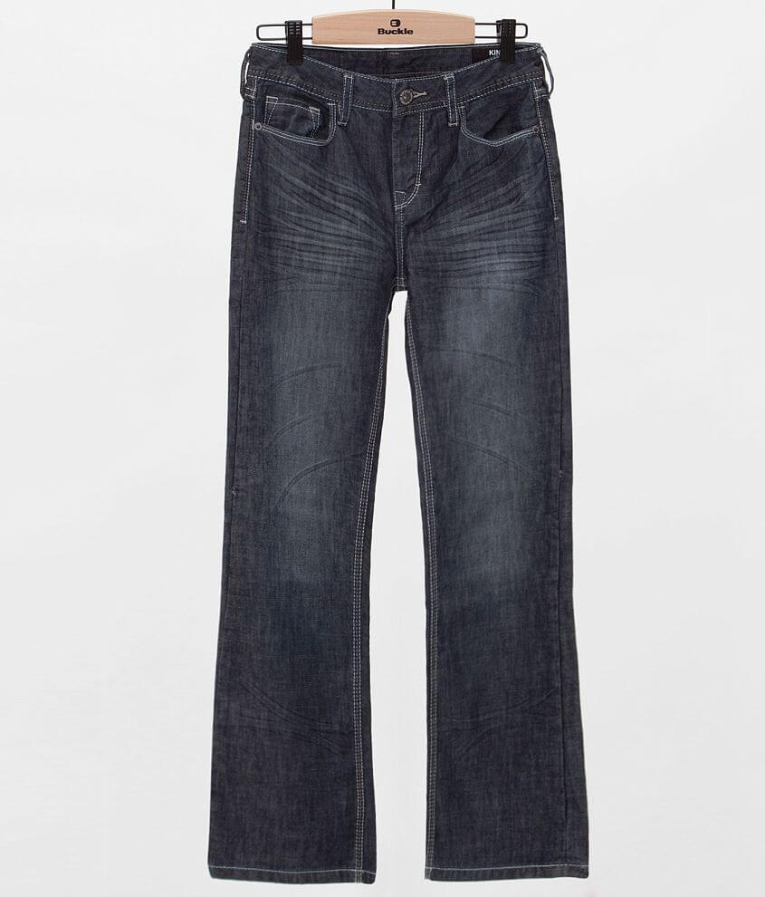 Boys - Buffalo King Boot Jean front view