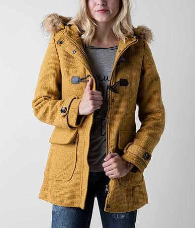 Madden Girl Textured Coat