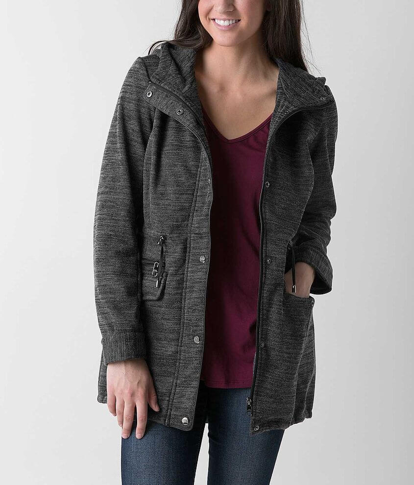 Steve Madden Knit Coat front view