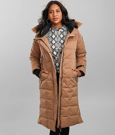 Steve Madden Duster Puffer Coat