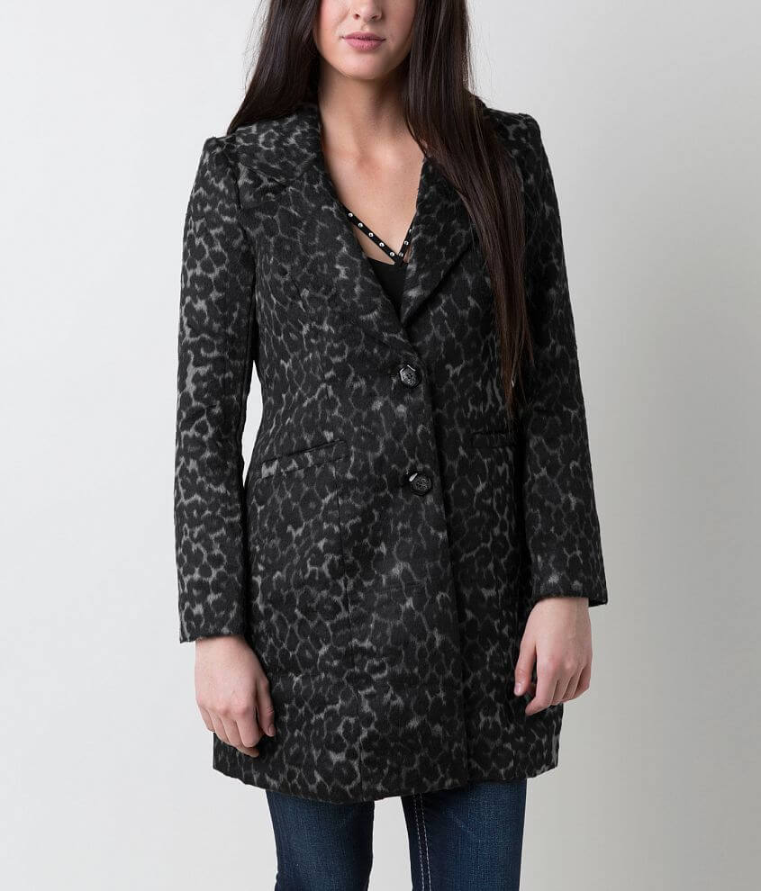 Steve Madden Printed Coat front view