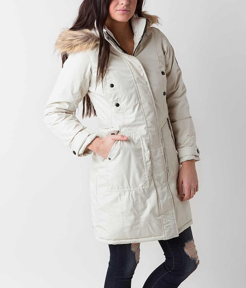 Madden Girl Solid Coat front view