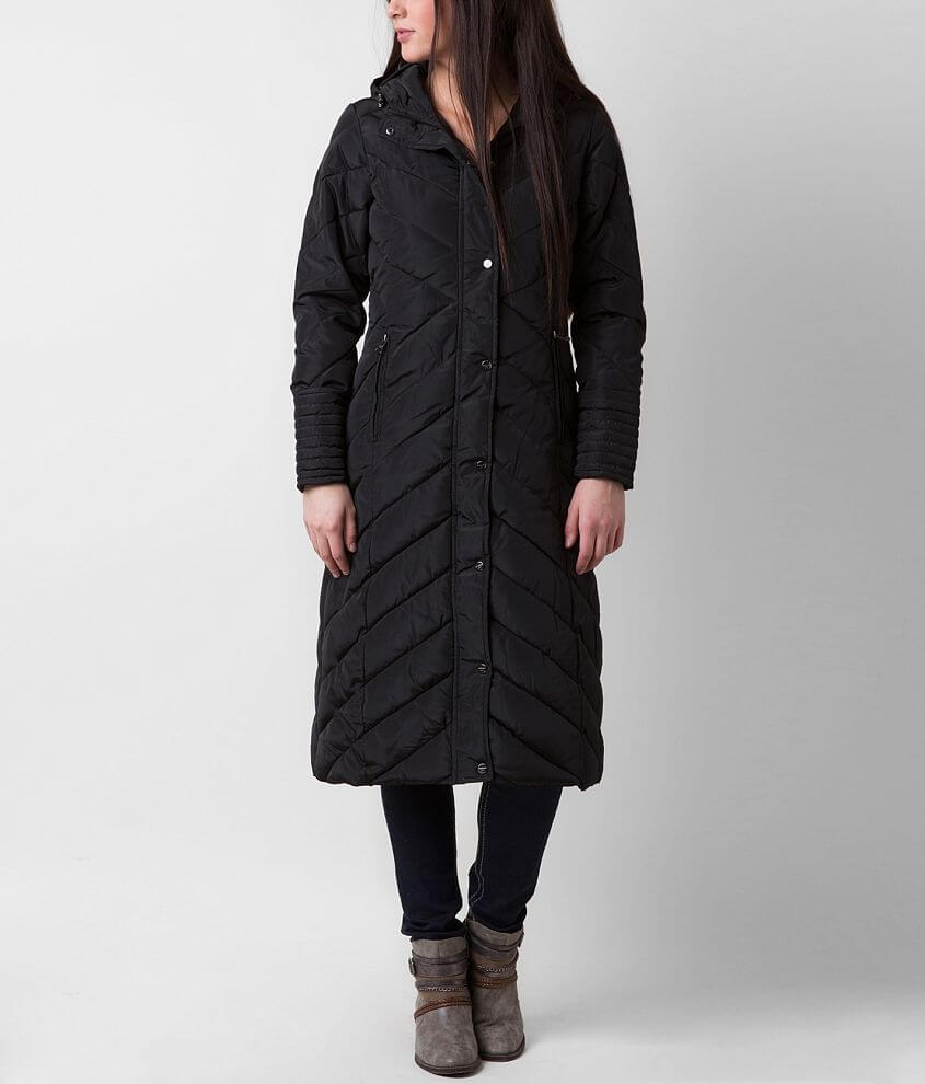 Madden Girl Puffer Coat front view