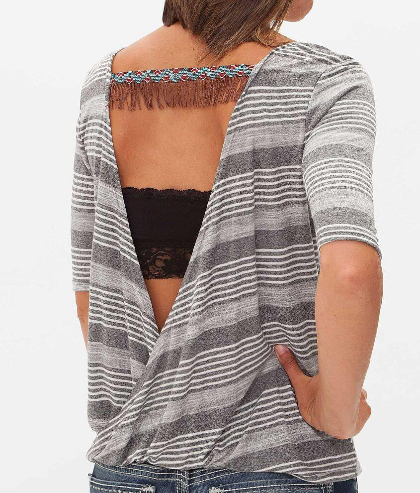 Daytrip Striped Top front view