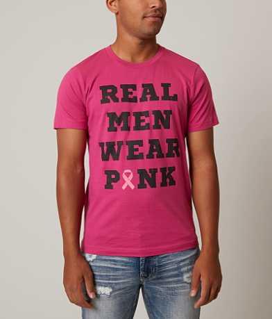 Buzz Real Men Wear Pink T-Shirt