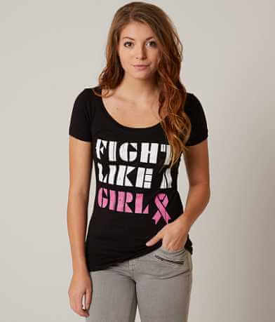 Buzz Fight Like A Girl T-Shirt