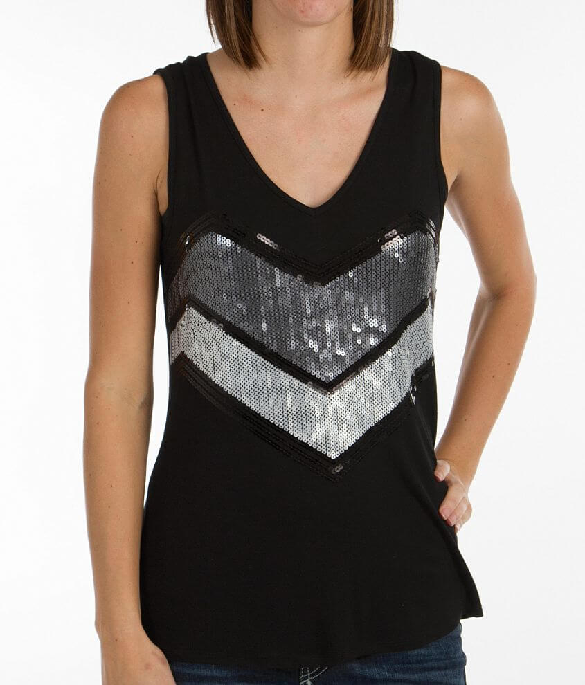 Daytrip V-Neck Tank Top front view
