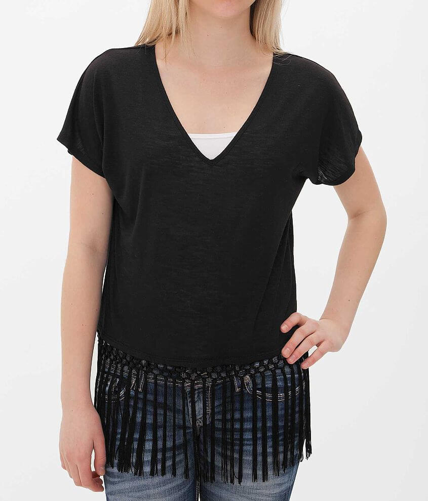 Daytrip Dolman Sleeve Top front view