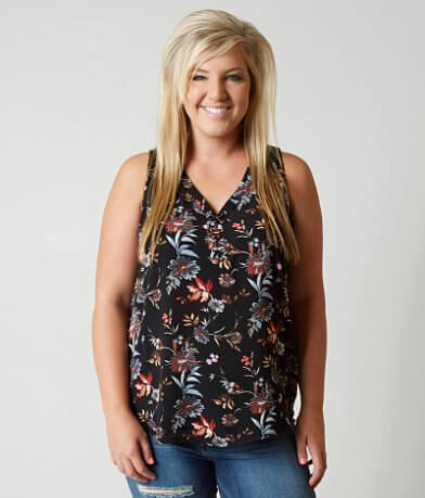 Daytrip Crepe Tank Top - Plus Size Only