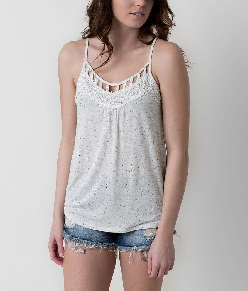 Daytrip Nubby Tank Top front view