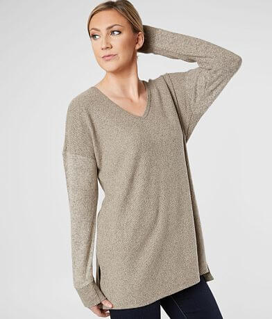 Daytrip Cozy Ribbed Top