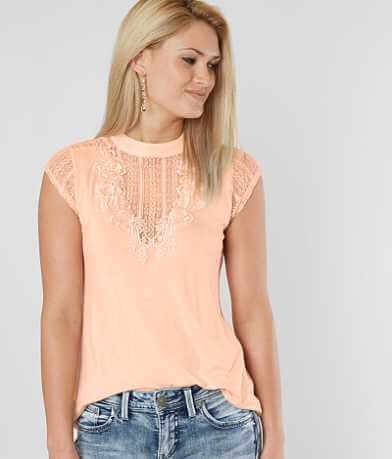 Daytrip Pieced Lace Top