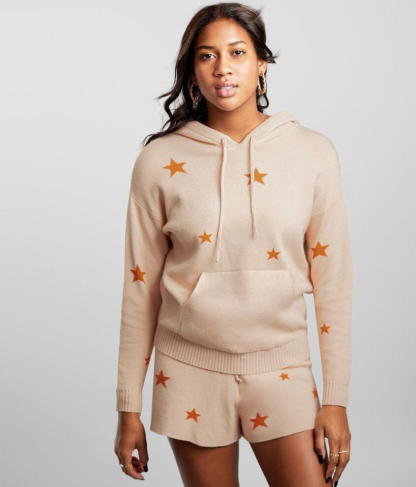 BKE Star Hooded Sweater front view