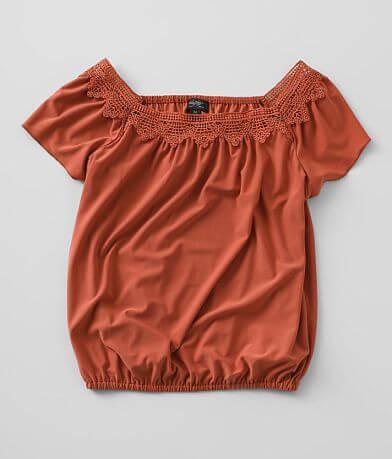 Girls - Daytrip Crochet Top
