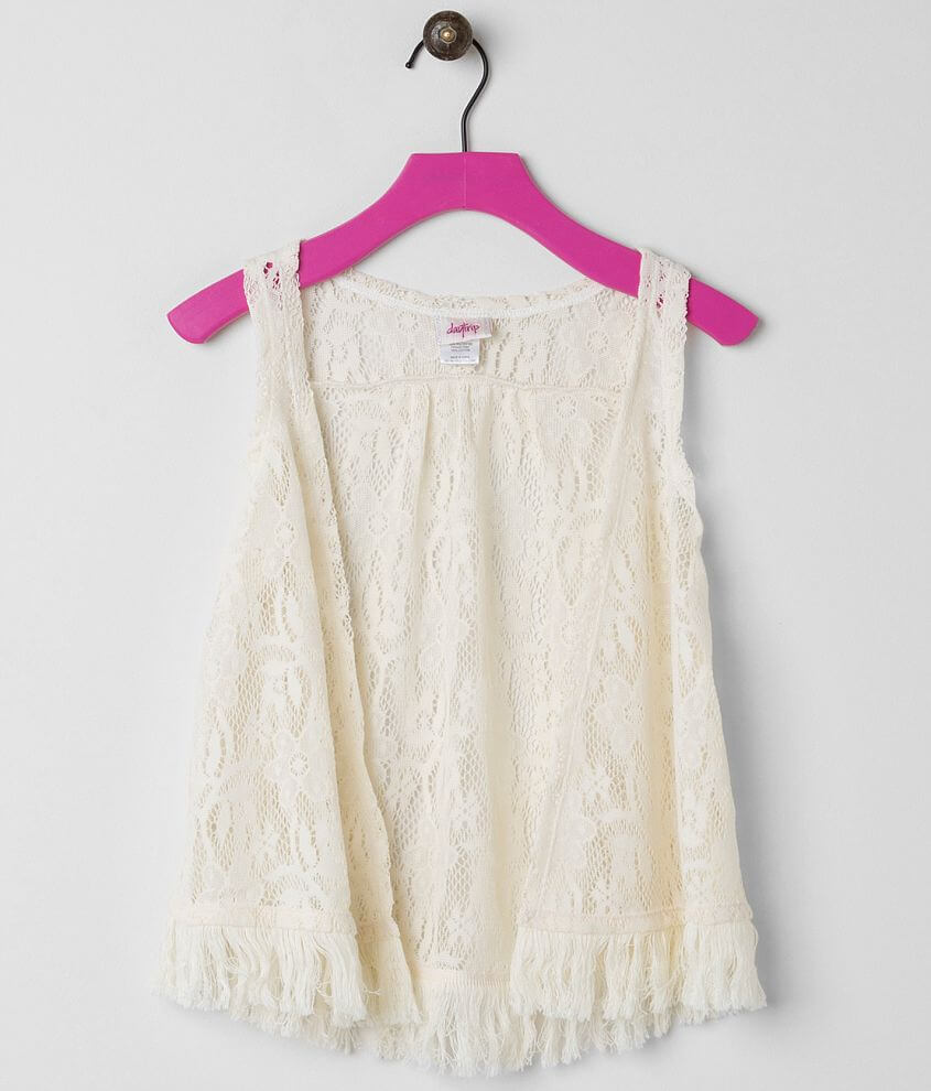 Girls - Daytrip Lace Vest front view