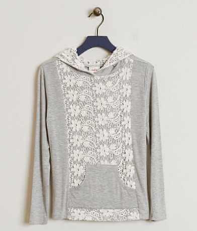 Girls - Daytrip Crochet Hoodie