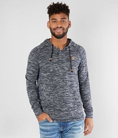 tentree Irvin Hooded Henley Sweatshirt