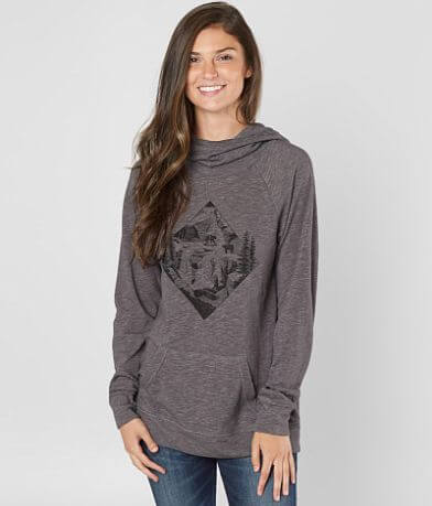 tentree Bear Ridge Cowl Neck Hoodie