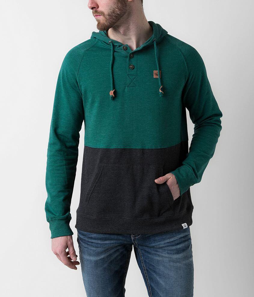 tentree Tucker Henley Sweatshirt front view