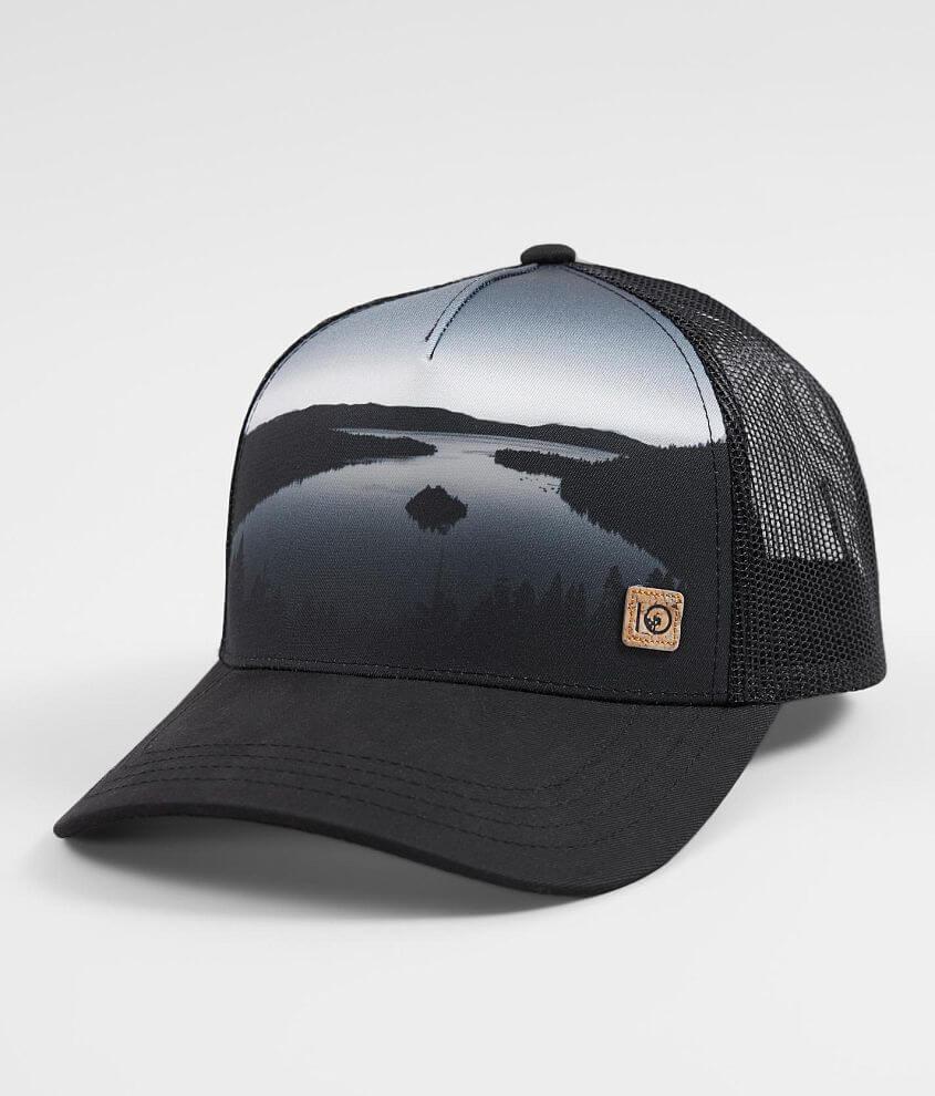 33f2ce05 tentree Altitude Trucker Hat - Men's Hats in Midnight Lake Meteorite ...