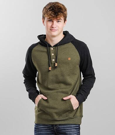 tentree Oberon Hooded Henley Sweatshirt