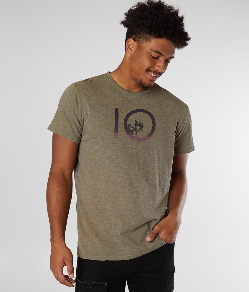 tentree Gradient Ten T-Shirt front view