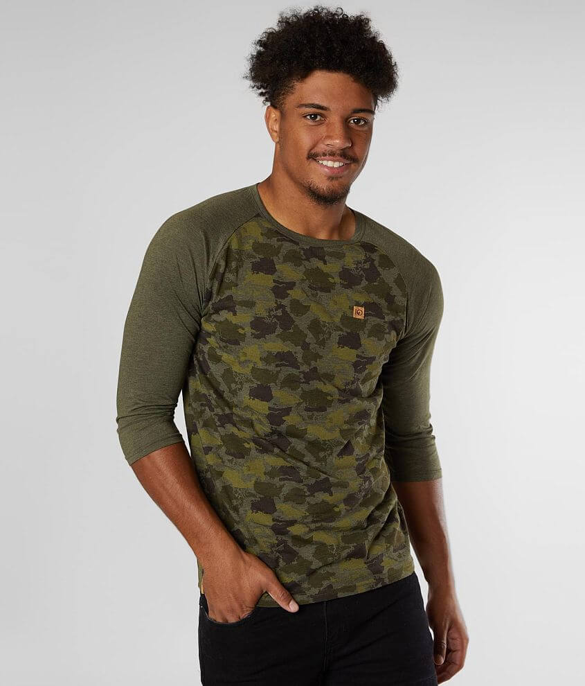 tentree Camo T-Shirt front view