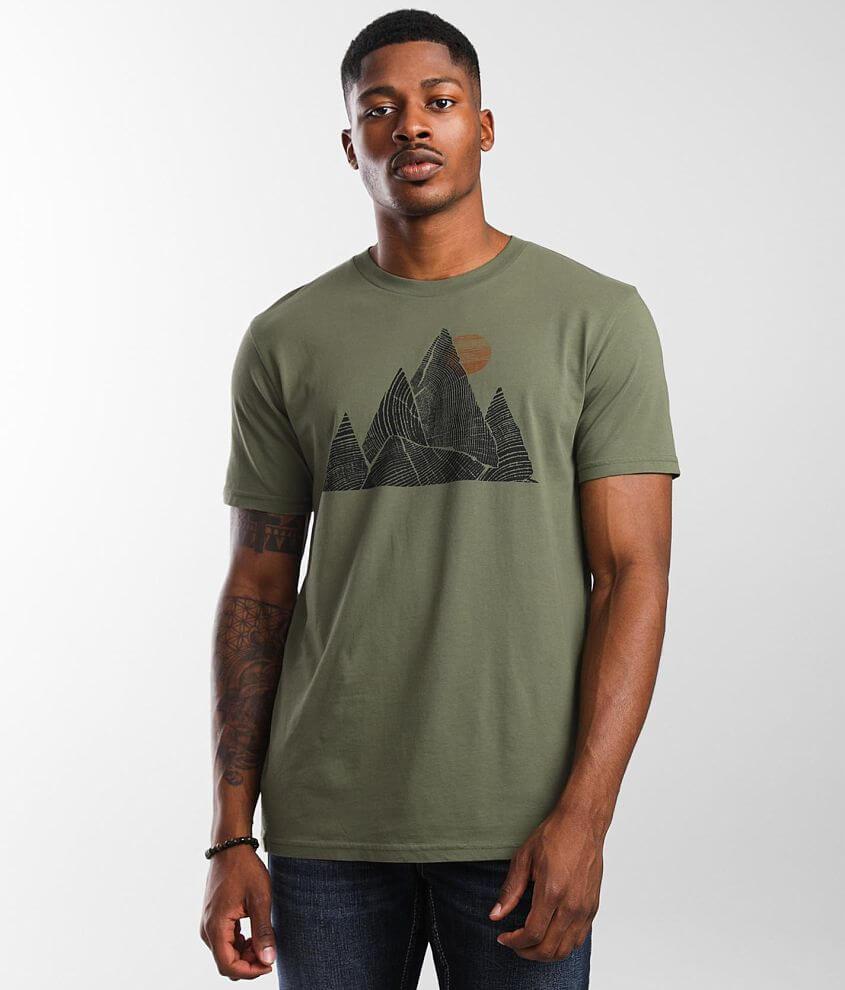 tentree Mountain Peak T-Shirt front view