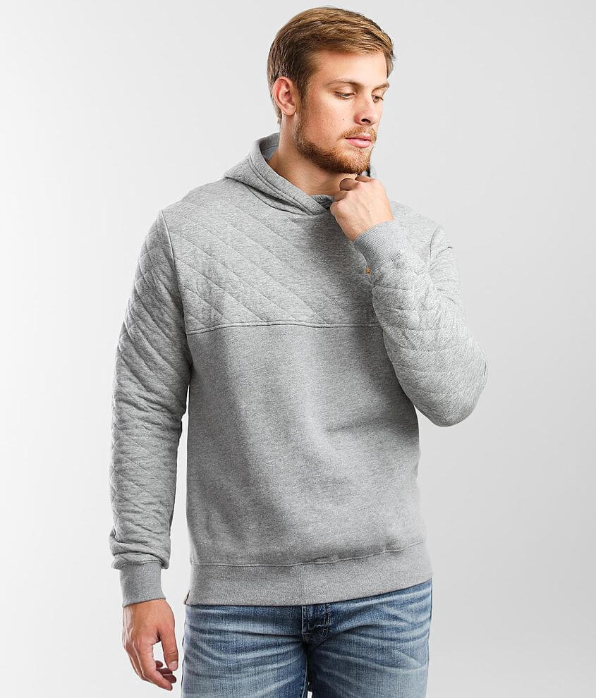tentree Quilted Knit Hooded Sweatshirt front view