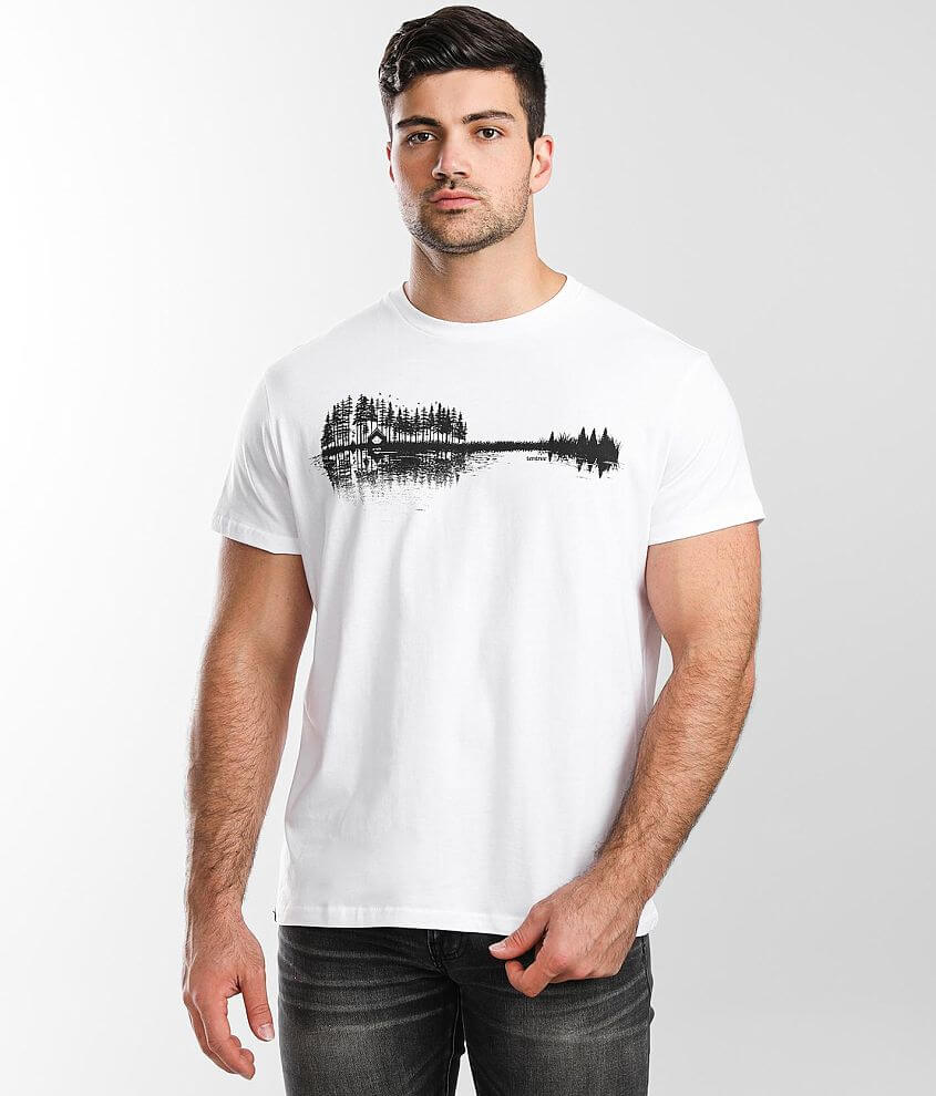 tentree Summer Guitar T-Shirt front view