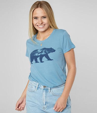 tentree Mountain Bear Crew Neck T-Shirt