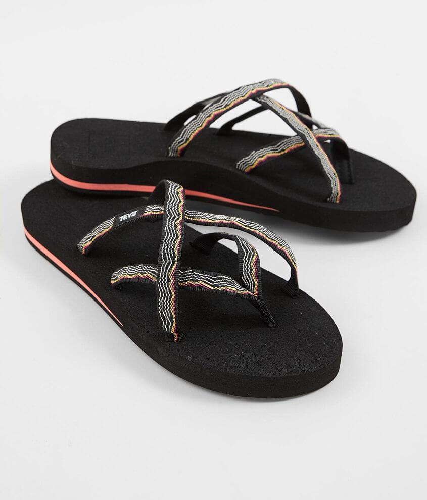 check out 48d5f 821b8 Teva Olowahu Flip - Women's Shoes in Vida Black   Buckle