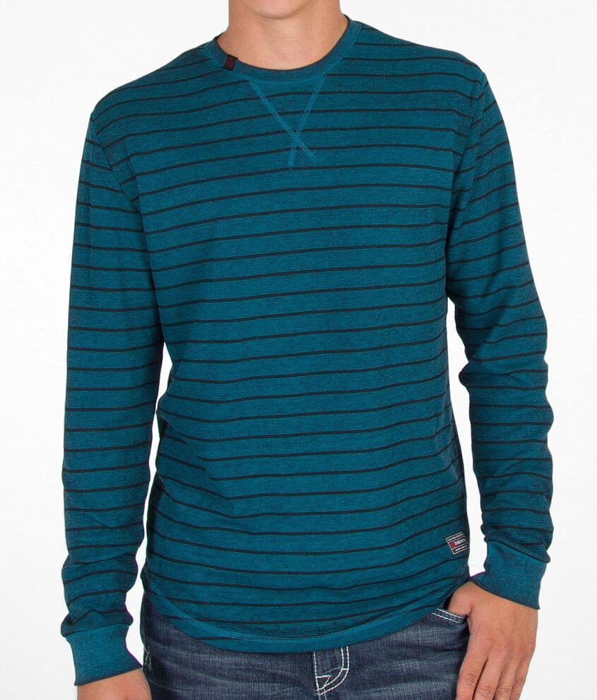 3rd & Army Striped Thermal Shirt front view