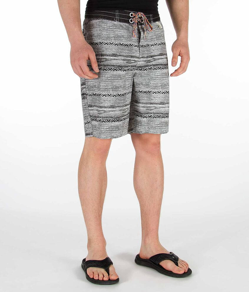 3rd & Army Stitch Print Boardshort front view