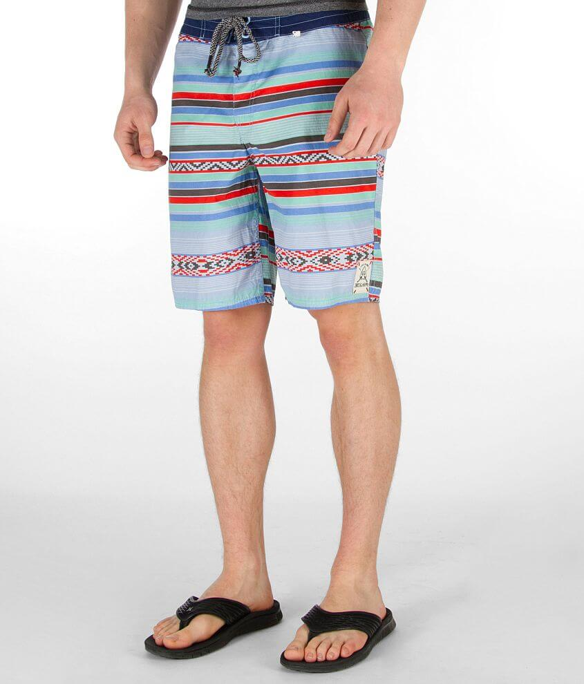 3rd & Army Sarapee Print Boardshort front view