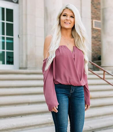 Willow & Root Off The Shoulder Top