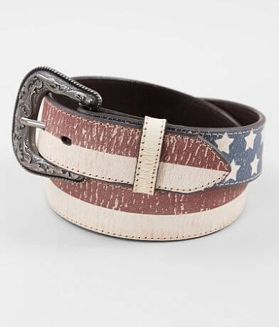 Indie Spirit Designs Americana Leather Belt