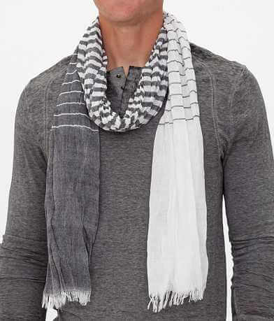 33 Point 3 Striped Scarf