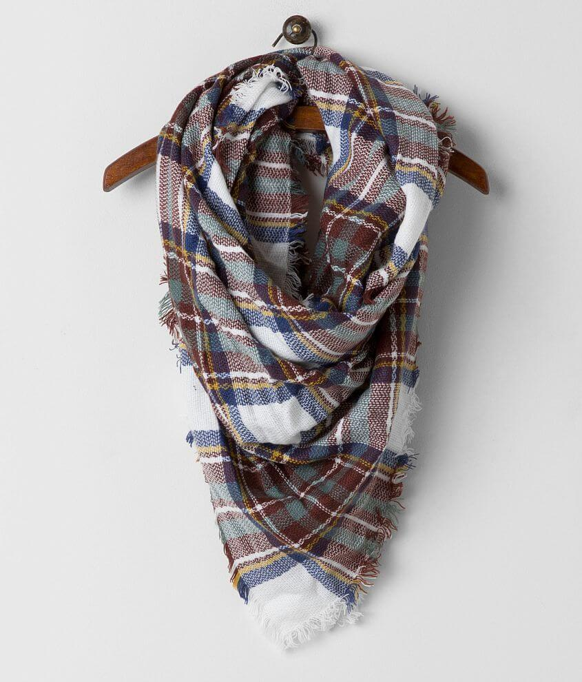 33 Point 3 Plaid Scarf front view