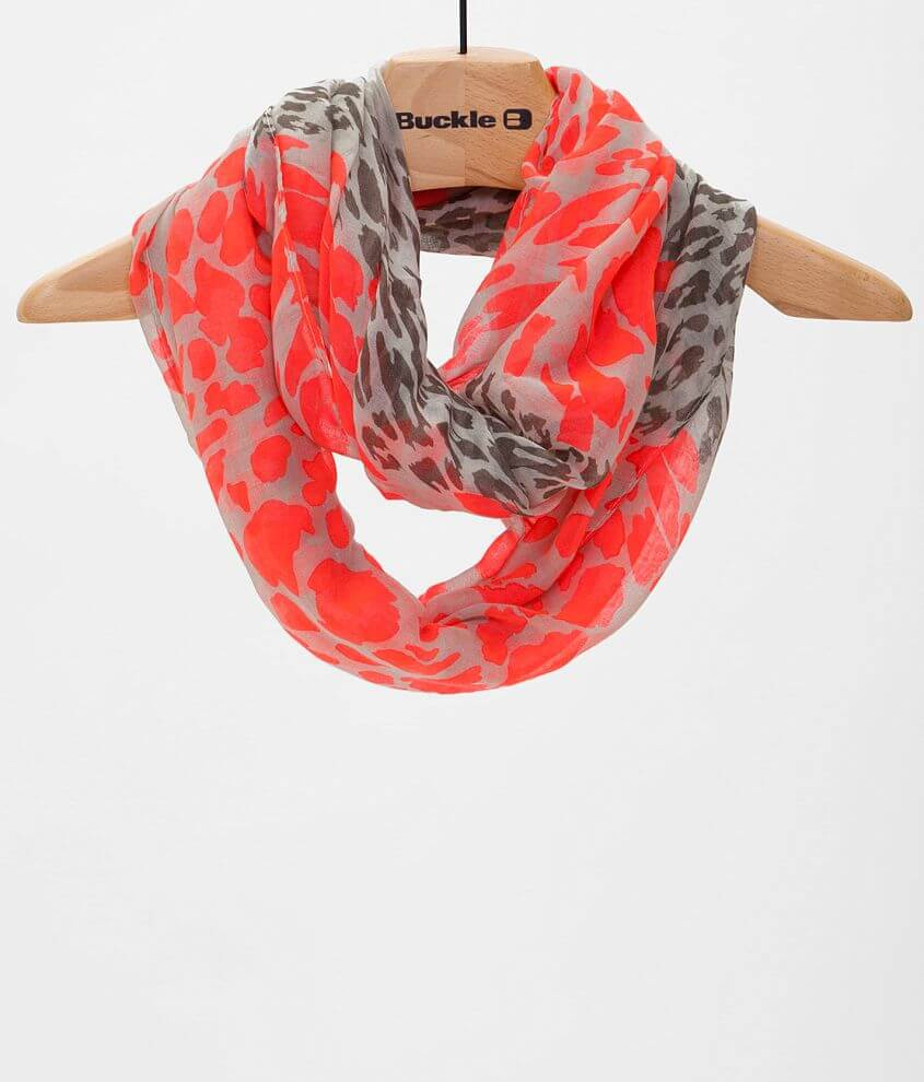 33 Point 3 Animal Print Scarf front view